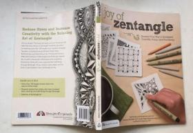 Joy of Zentangle: Drawing Your Way to Increased Creativity, Focus, and Well-Being為增強創造力專注力和幸福感繪制自己的路