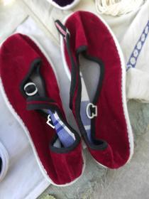 女 士一带鞋新鞋35码千层手纳底