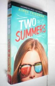 *Two Summers (平装原版外文书)