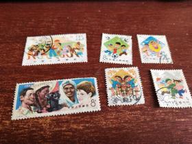文革信销票邮票6牧合售  品如图    货号86-6