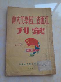江西省二届学代大会汇刊