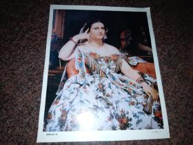 莫雪铁公爵夫人像(法   安格尔作品)油画画片