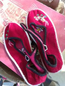 女 士一带鞋新鞋35码微信13610611768千层手纳底