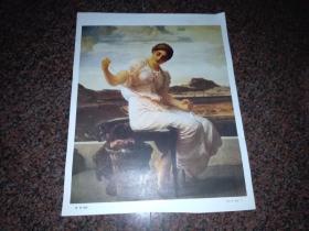 缠绕  局部(英   弗.莱顿)油画画片