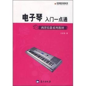 西洋乐器系列教材·军地俱乐部丛书:电子琴入门一点通