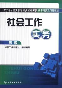 2013社会工作者职业水平考试备考精要及习题精练:社会工作实务(初级)