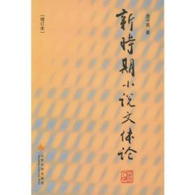 新时期小说文体论:增订版