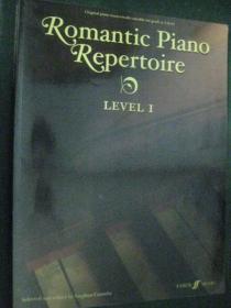 外国原版钢琴曲  Romantic Piano Repertoire, Level 1