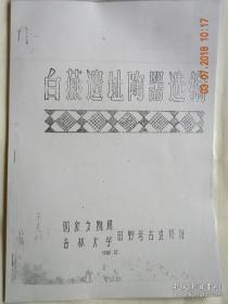 白燕遗址陶器选编
