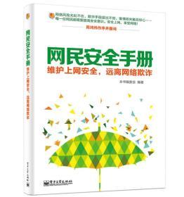 网民安全手册:维护上网安全,远离网络欺诈(双色)