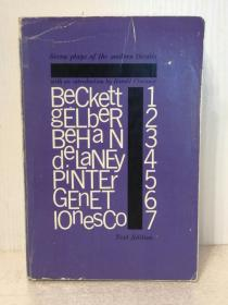 现代经典剧场戏剧七部:贝克特 等待戈多 等 Seven Plays of the Modern Theater Text Edition (戏剧) 英文原版书