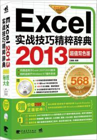 Excel 2013实战技巧精粹辞典