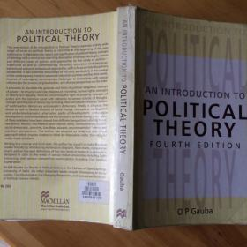 An Introduction  to  Political Theory Fourth Edition(英文原版)