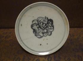 古玩文玩收藏类:明 青花花卉纹老瓷片 QH-0025