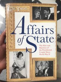 AFFAIRS OF STATE(精装、内有少许彩笔下划线、如图)