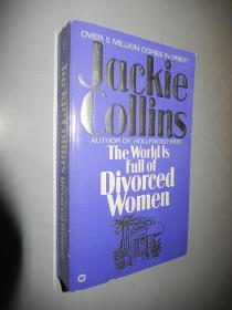The World Is Full of Divorced Women Jackie Collins 英文原版