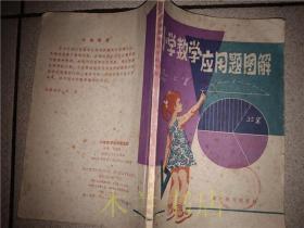 老教辅 小学数学应用题图解/李青编著/湖北人民出版社 1984年一版一印 32开平装