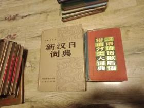 新汉日词典【精装16开】