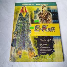 英文书:Women is  Knitwear   E一Knit   毛衣款式