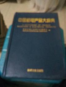 中国机电产品大辞典