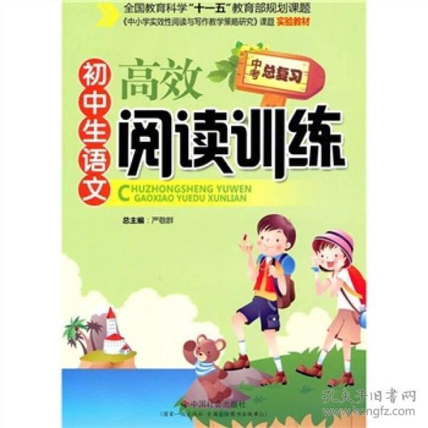 初中生语文高效阅读训练(中考总复习)