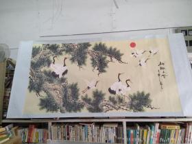 松鹤长寿图/BT(外来之家