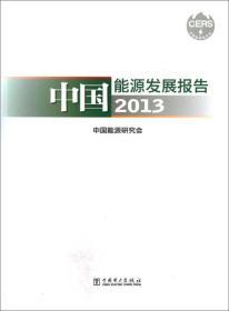 中国能源发展报告(2013)
