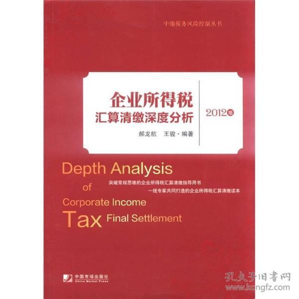 中翰税务风险控制丛书:企业所得税汇算清缴深度分析(2012版)