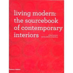 WW9780500515259微残-英文版-Living Modern:The Sourcebook of contemporary interiors