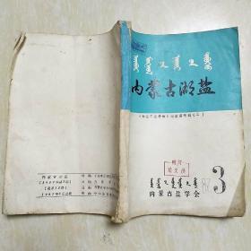 内蒙古湖盐 制盐工业手册 湖盐篇专辑 三