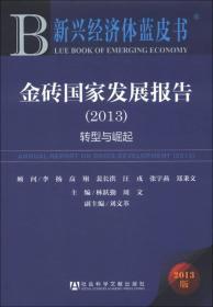 新兴经济体蓝皮书·金砖国家发展报告(2013版):转型与崛起