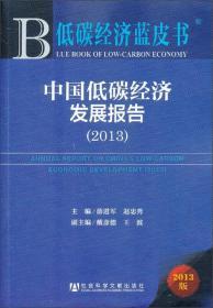 低碳经济蓝皮书:中国低碳经济发展报告(2013)