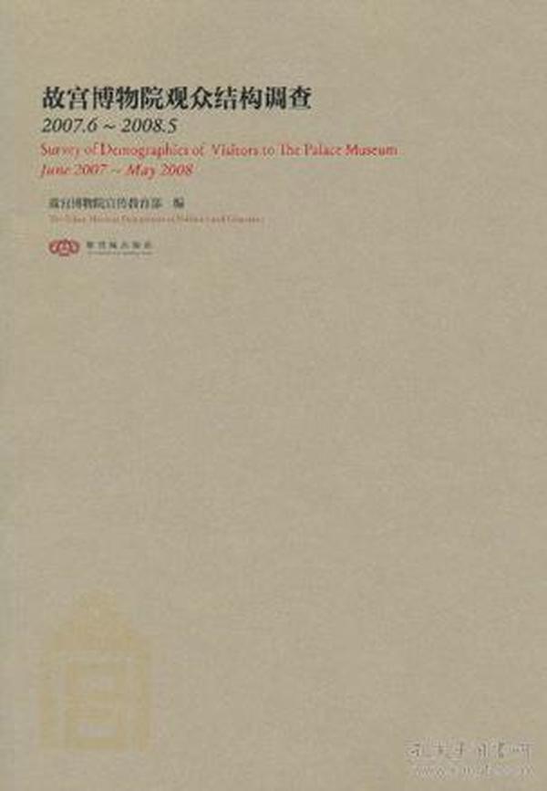 故宫博物院观众结构调查(2007.6~2008.5)