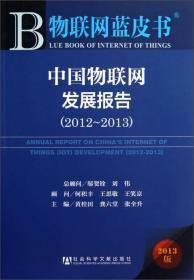 中国物联网发展报告(2012--2013)