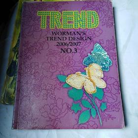 英文书:TREND  绣花