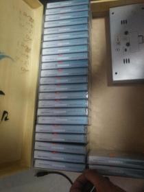 磁带 美国英语广播教学系列 中级美国英语24盘合售