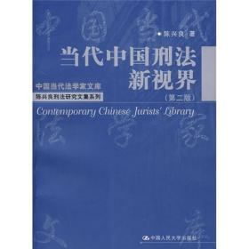 正版新书当代中国刑法新视界(第二版)