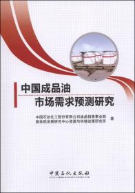 中国成品油市场需求预测研究
