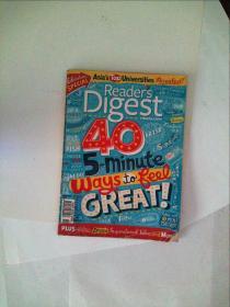 Readers Digest 读者文摘 2011/11外文原版杂志封面破损见图慎拍
