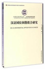 现代汉语同位同指组合研究