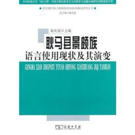 耿马县景颇族语言使用现状及其演变