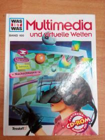 德文原版书:Was ist Was. Multimedia und virtuelle Welten 多媒体与虚拟世界(大16开精装 附光盘)