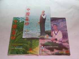 中国气功  1992年1.2.3期 合售