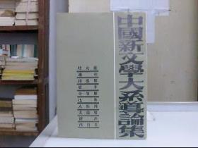 中国新文学大系导论集