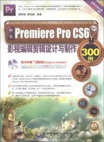 中文Premiere Pro CS6影视编辑剪辑设计与制作300例(少盘)
