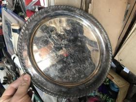 老的盘子,做工精美 ONEIDA SILVERPLATE
