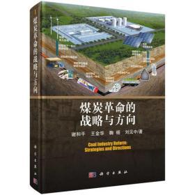 煤炭革命的战略与方向 谢和平等 科学出版社 9787030573100