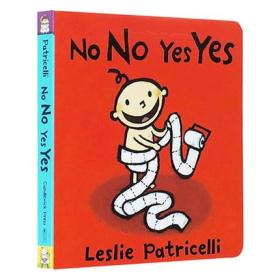 No No Yes Yes 名家Leslie Patricelli 幼儿发蒙纸板 英文原版