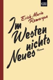 德文小说 德语 Im Westen nichts Neues 西线无战事 德国原版 精装硬皮
