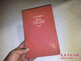1946年英文原版  32开硬精装:MEN WITH A CLEAR CONSCIENCE